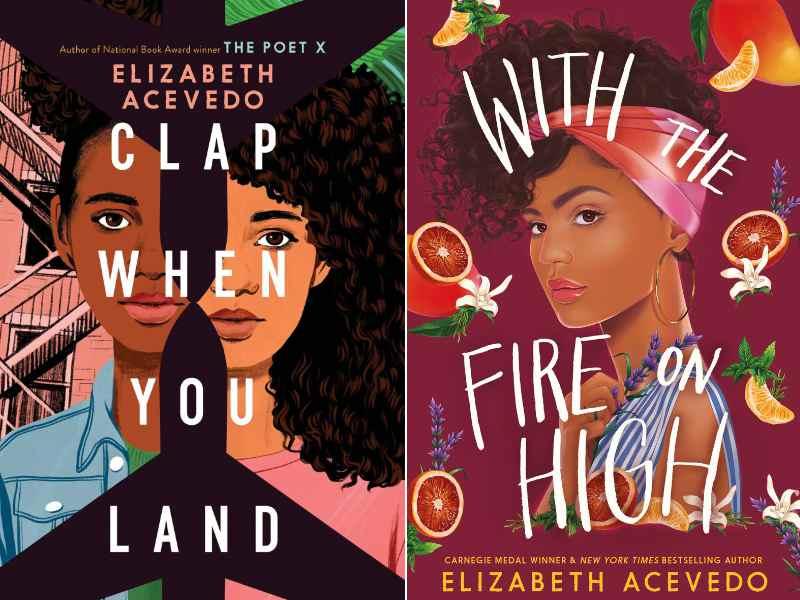 Editora Nacional trará so Brasil sucessos de Elizabeth Acevedo como Clap When You Land e With the Fire on High ainda em 2021